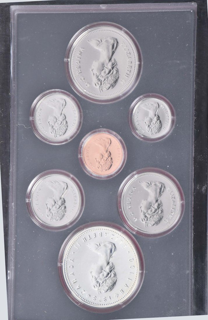 LOT OF US & FOREIGN SILVER PROOF SETS - 4