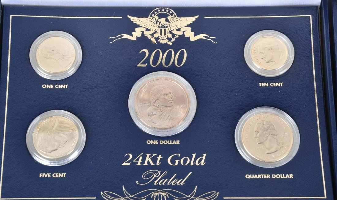MIXED US PROOF SETS & COMMEMORATIVE COIN SETS - 3