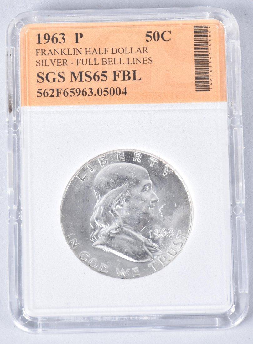3- US & AUSTRIA GRADED SLAB COINS - 2