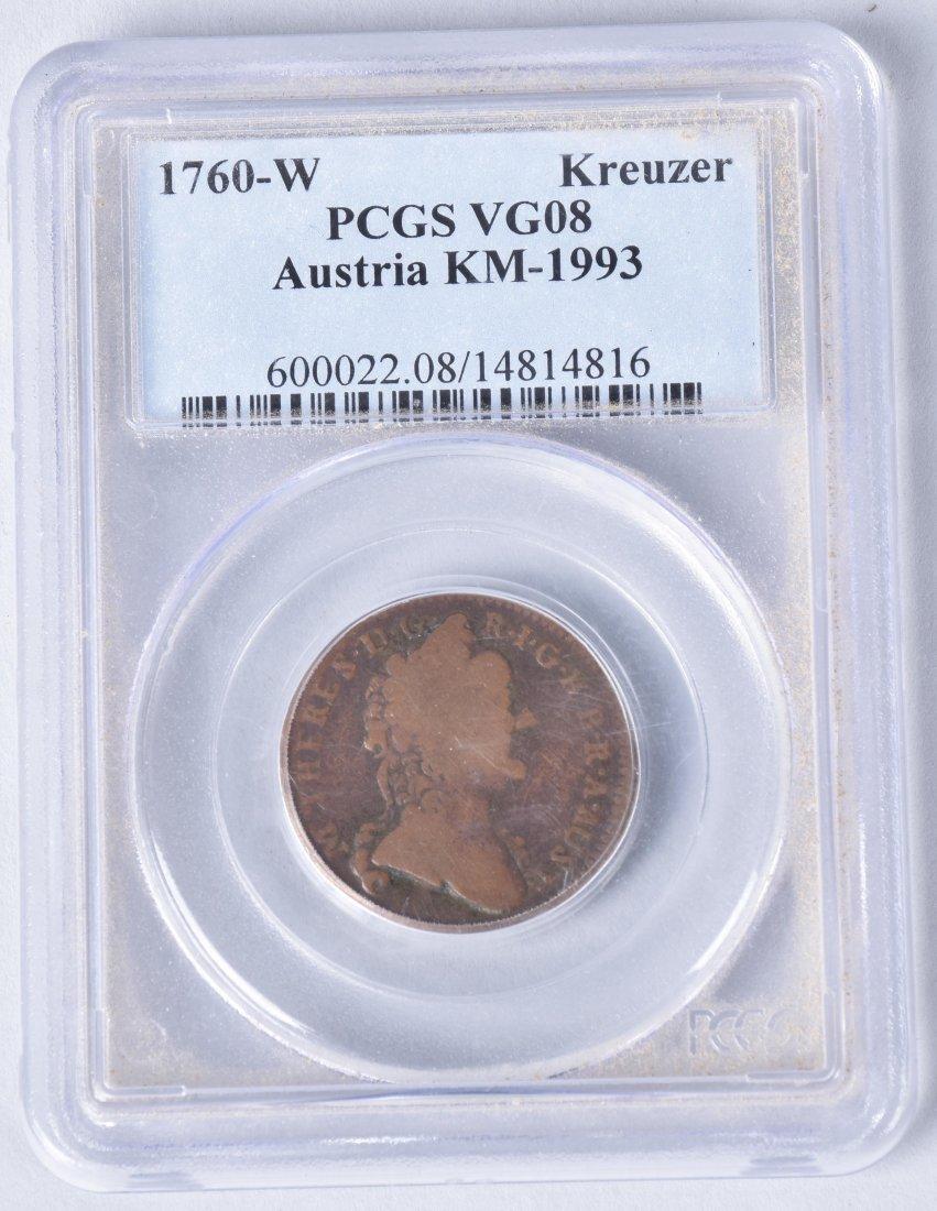 3- US & AUSTRIA GRADED SLAB COINS - 4