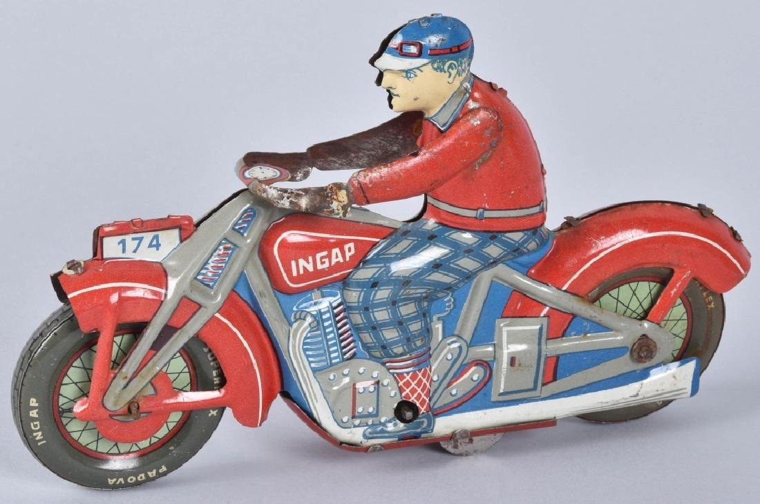 INGAP Tin Windup MOTORCYCLE