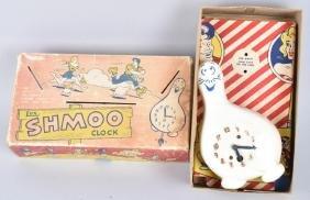 LUX SHMOO CLOCK w/ BOX