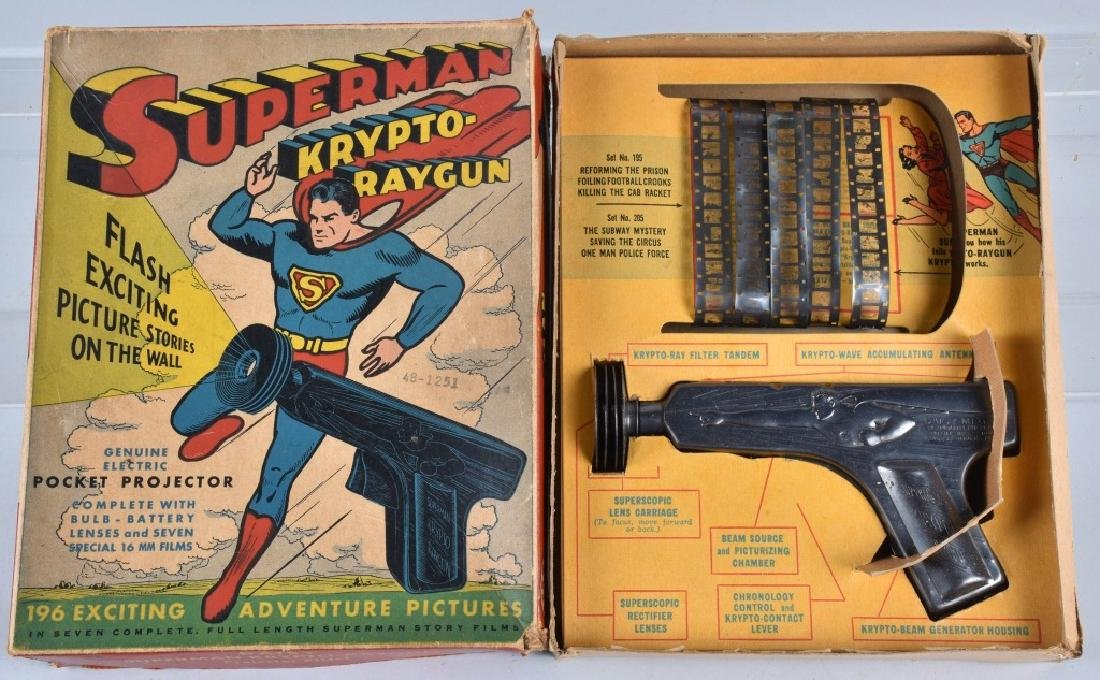 DAISY SUPERMAN KRYPTO RAYGUN w/ BOX