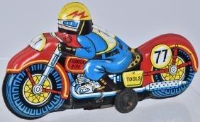 JAPAN Tin Friction THUNDERBIRD MOTORCYCLE
