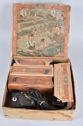 LIONEL PREWAR O-GAUGE SET #232 w/ BOX