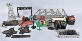 LARGE LOT OF LIONEL RAIL ROAD ACCESSORIES
