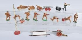 Lot of BARCLAY SOLDIERS & CANNONS