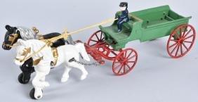 KENTON Cast Iron HORSE DRAWN DRAY