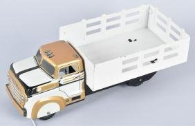 MARX STAKE TRUCK, GOLD / WHITE