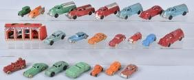 23-VINTAGE DIECAST METAL TOYS, BARCLAY & MORE