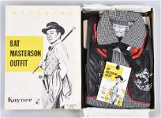 BAT MASTERSON OUTFIT New Old Stock w/BOX