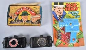 VINTAGE DICK TRACY CAMERA / FILM LOT