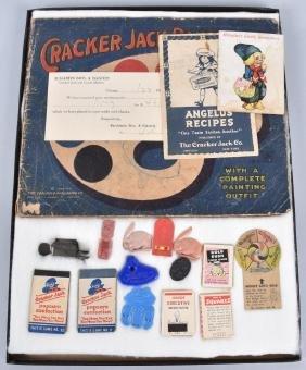 VINTAGE CRACKER JACK LOT, PRIZES and MORE