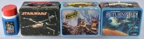 3- Original Thermos Star Wars Lunch Boxes
