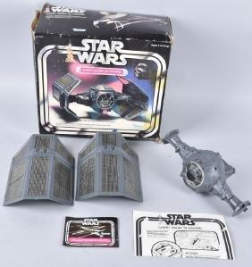 STAR WARS DARTH VADER TIE FIGHTER w/ BOX