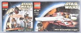 STAR WARS LEGO EWOK ATTCACK & JEDI STARFIGHTER