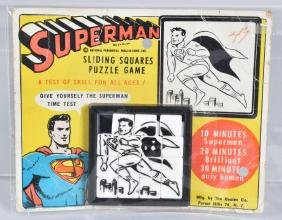Early SUPERMAN SLIDE PUZZLE MOC