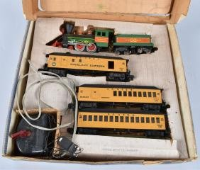 AMERICAN FLYER FRONTIERSMAN TRAIN SET w/ BOX