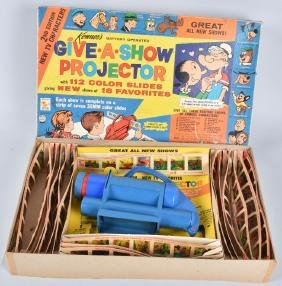 KENNER GIVE-A-SHOW PROJECTOR w/ BOX
