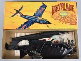 AURORA BATMAN BATPLANE MODEL KIT w/ BOX