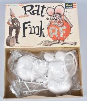 REVELL ED ROTH'S RAT FINK MODEL KIT MIB