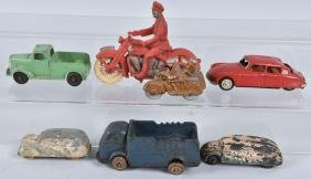 LOT OF VINTAGE TOY VEHICLES