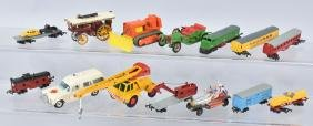LOT OF VINTAGE DICAST VEHICLES