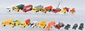 LOT OF VINTAGE MATCHBOX & HUSKY CARS & MORE