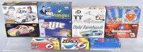 11- ACTION & MORE NASCAR RACING DIECAST CARS MIB