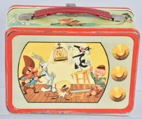 1959 LOONEY TUNES TV SET LUNCH BOX