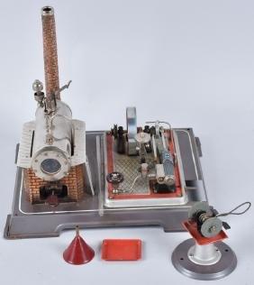 GERMAN STEAM ENGINE w/ GRINDER ACCESSORY