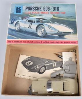 K&B PORSCHE 906/916 1/24 SCALE SLOT CAR w/ BOX