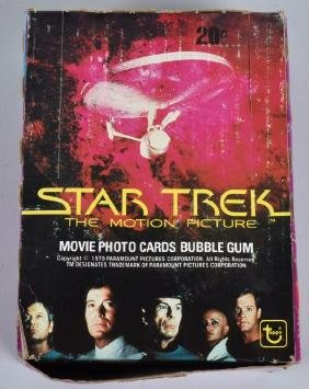 TOPPS STAR TREK THE MOTION PICTURE CARDS WAX BOX