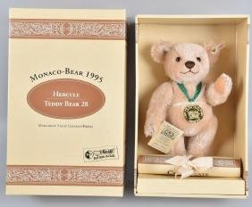 STEIFF MONACO-BEAR HERCULE TEDDY BEAR w/ BOX