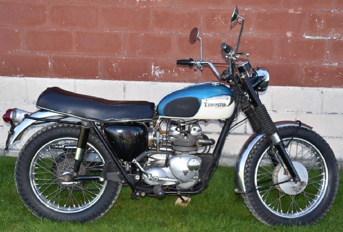 1967 TRIUMPH TIGER TC100 500 MOTORCYCLE