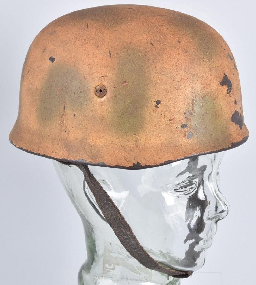 WW2 GERMAN LUFTWAFFE PARATROOPER HELMET - 6