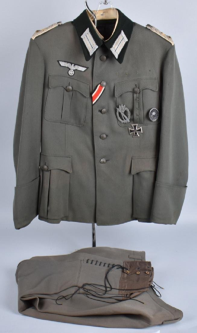 WW2 GERMAN M36 INFANTRY OFFICER UNIFORM