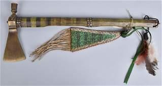 BRASS TRADE PIPE TOMAHAWK