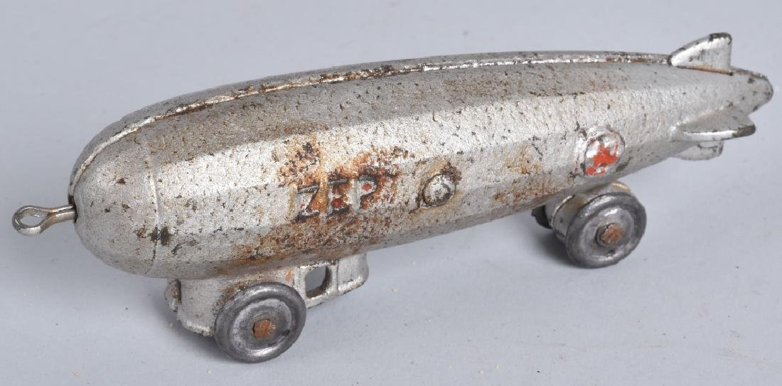 "5"" DENT Cast Iron ZEP ZEPPELIN"