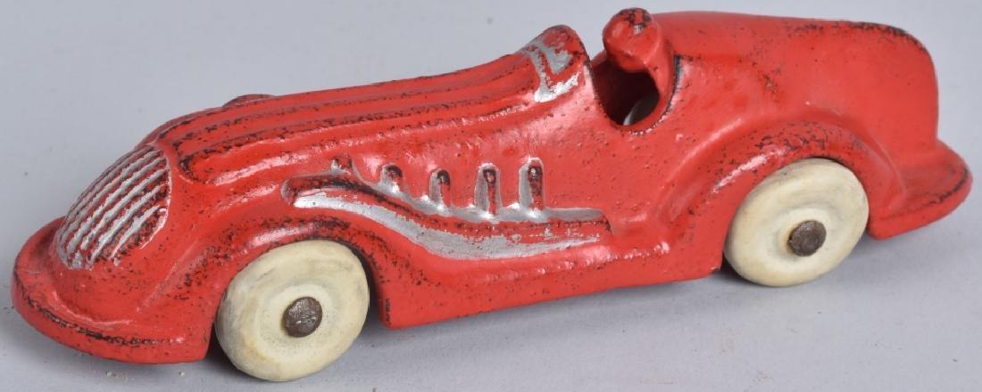 "5 1/2"" ARCADE Cast Iron STREAMLINE RACER"