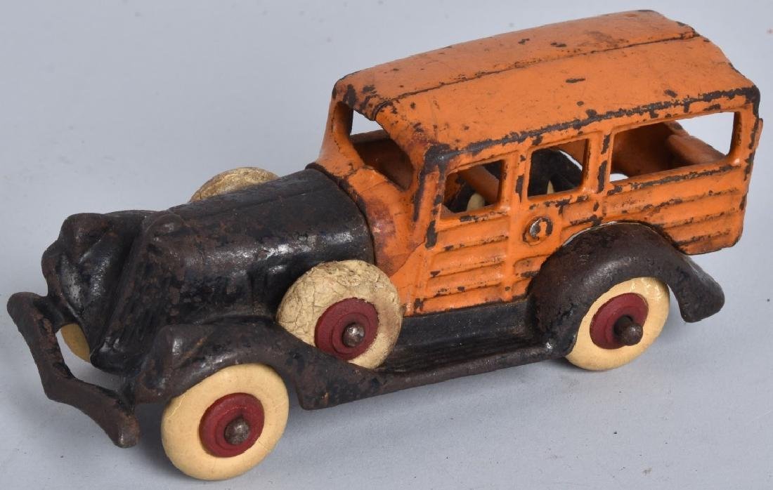 "5"" AC WILLIAMS Cast Iron WOODY WAGON"
