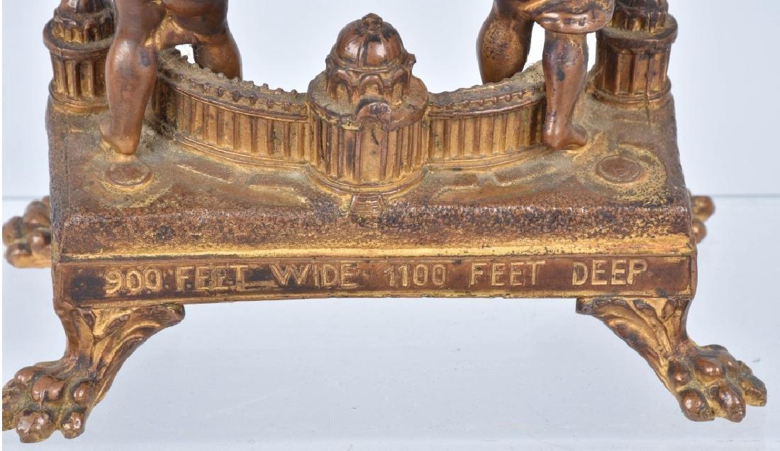 1904 ST LOUIS EXPO CASCADES & FESTIVAL HALL CLOCK - 6