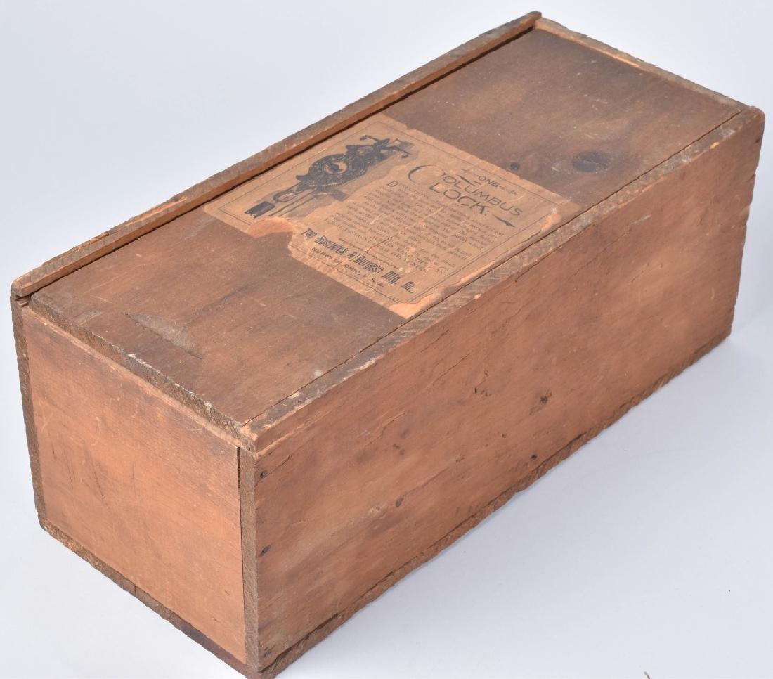 1892 COLUMBUS EXPO BOSTWICK & BURGESS CLOCK w/BOX - 6