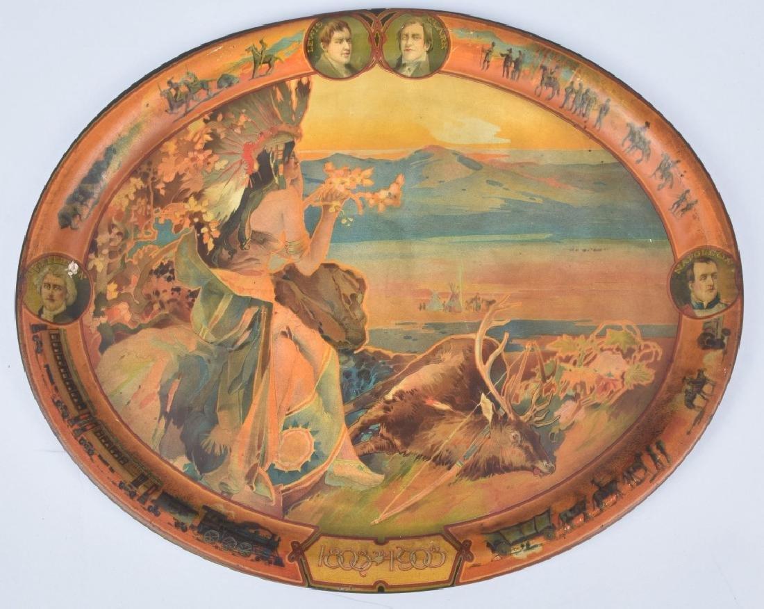 1903 LOUISIANA PURCHASE CENTENNIAL TRAY