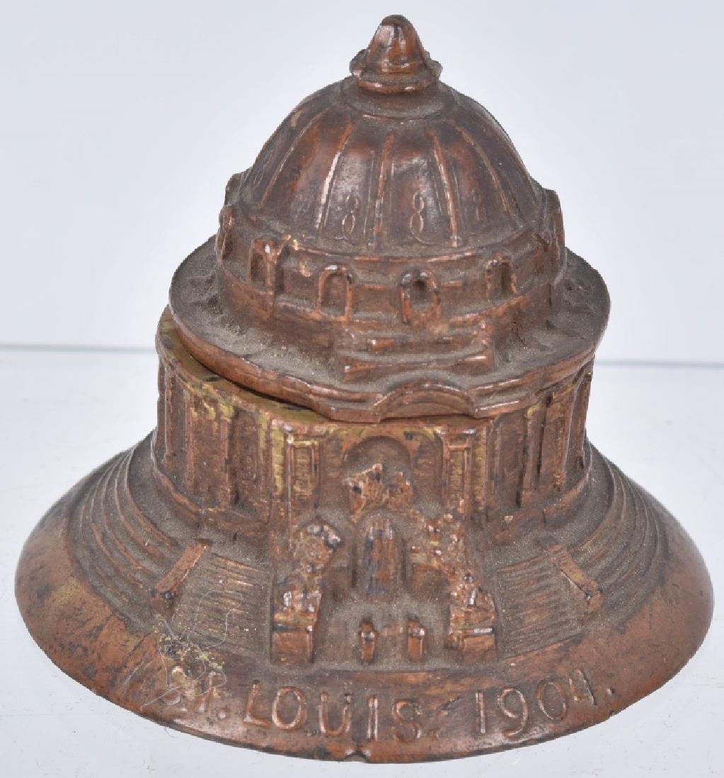 1904 ST LOUIS EXPO THIMBLE HOLDER