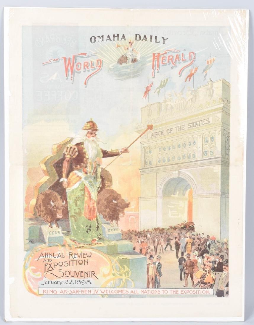 1898 TRANS-MISSISSIPPI EXPO POSTER