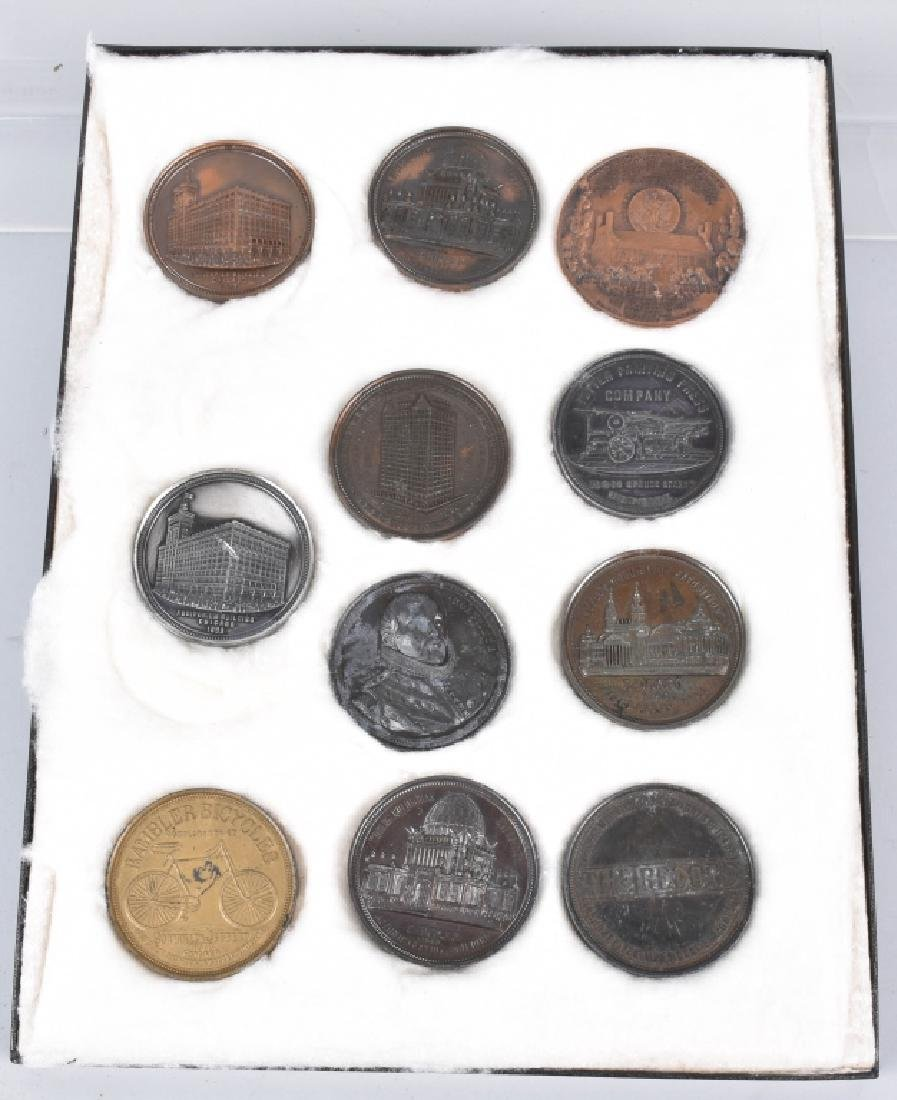 Lot of COLUMBIAN EXPOSITION MEDALS