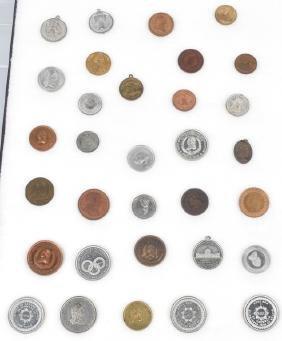 1876 Centennial Exhibition Medals Tokens & Coins