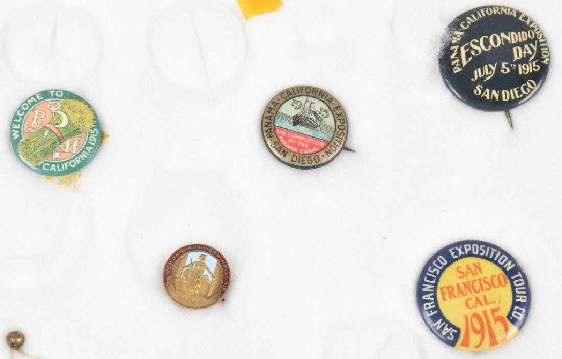 1915 PANAMA PACIFIC EXPO PINS & BUTTONS - 3