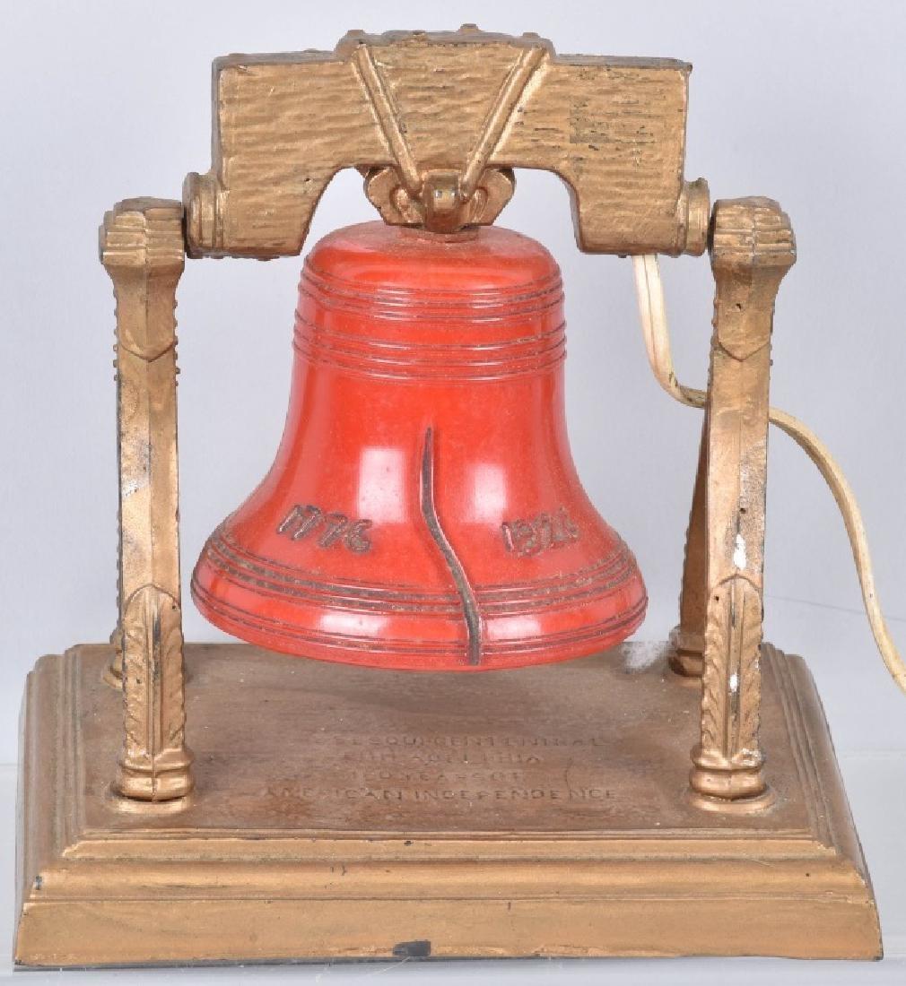 1926 SESQUI-CENTENNIAL LIBERTY BELL LIGHT